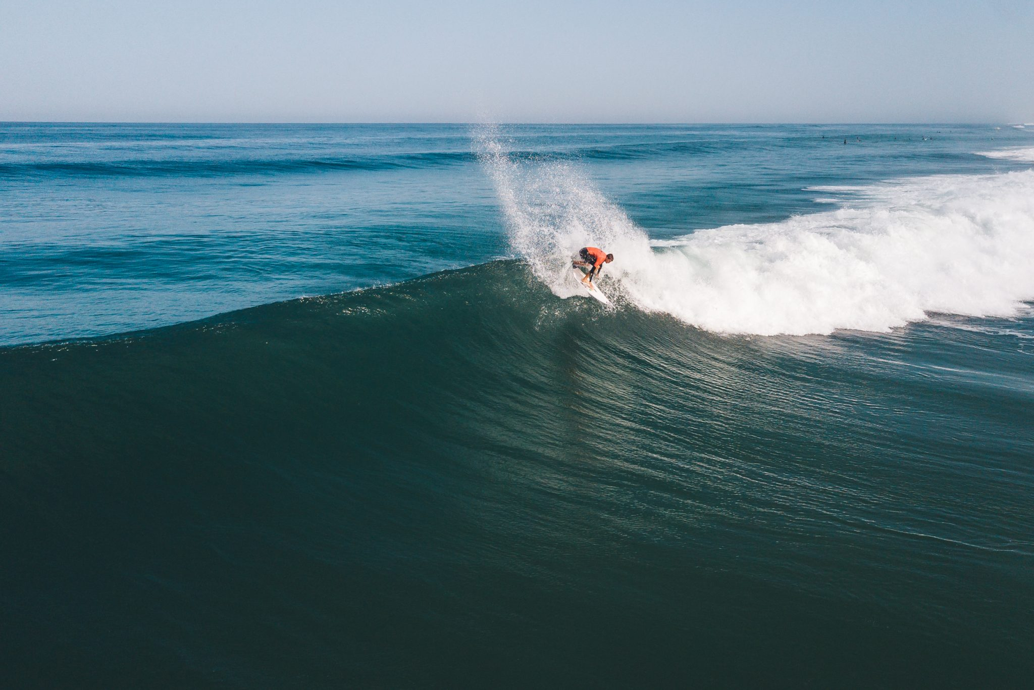 perfekte Welle in Frankreich Moliets
