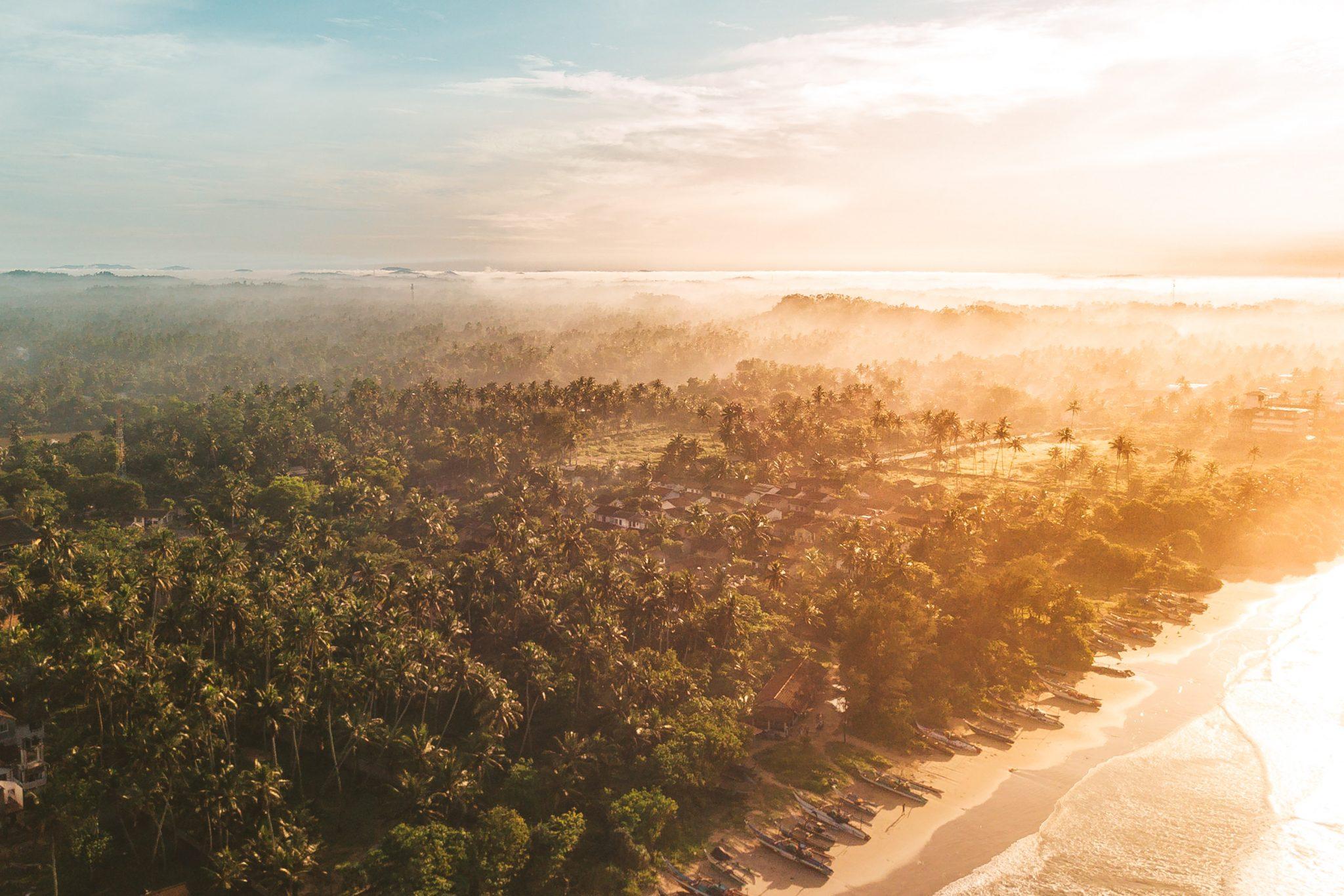 Sri Lanka Surcamp von oben