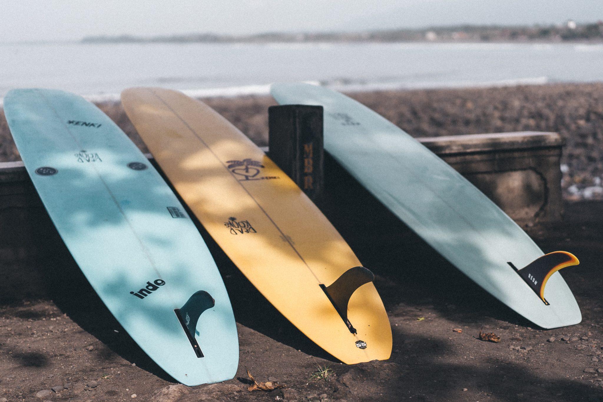 Longboards in verschiedenen Größen