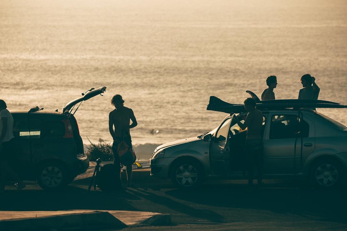 Surfcamps.de Boilers surf chilln auf der Straße