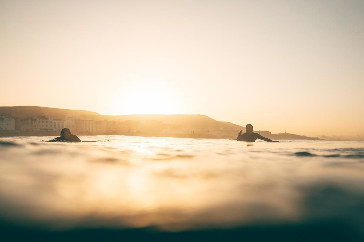 Surfcamps.de Sonnenuntergang