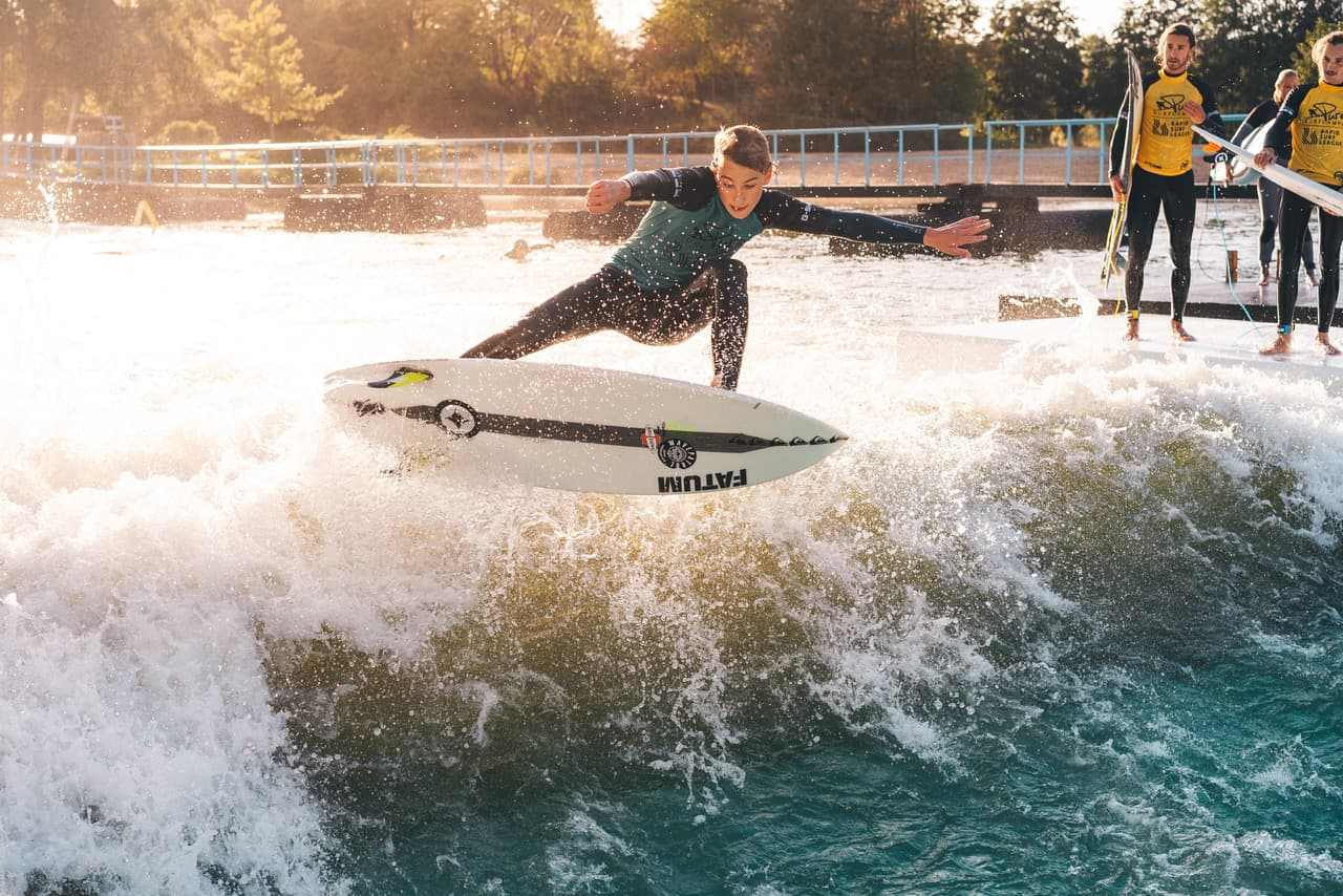 surfen in NRW, Rapid surfing