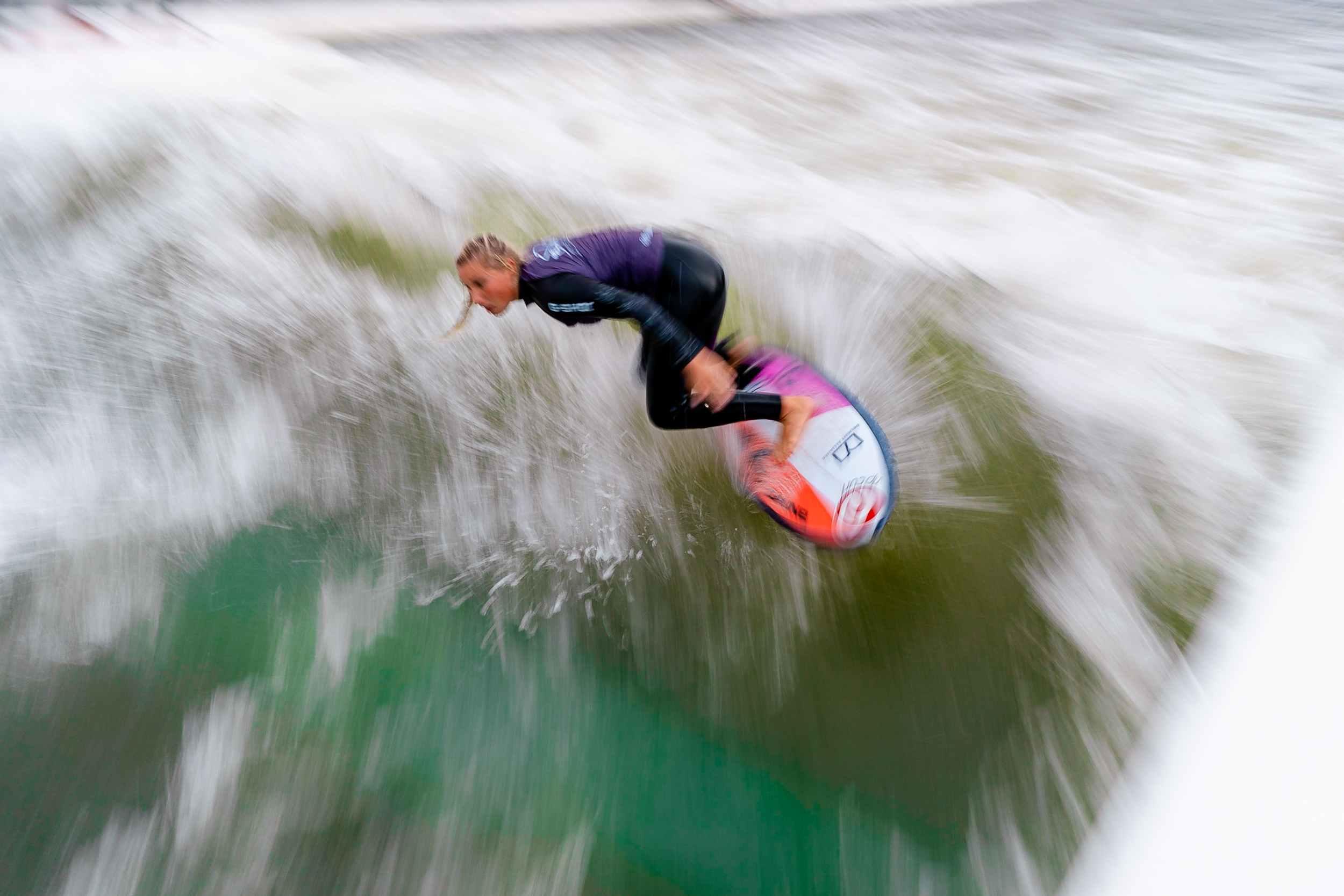 Rapid Surf League Finale in Langenfeld Janina blur
