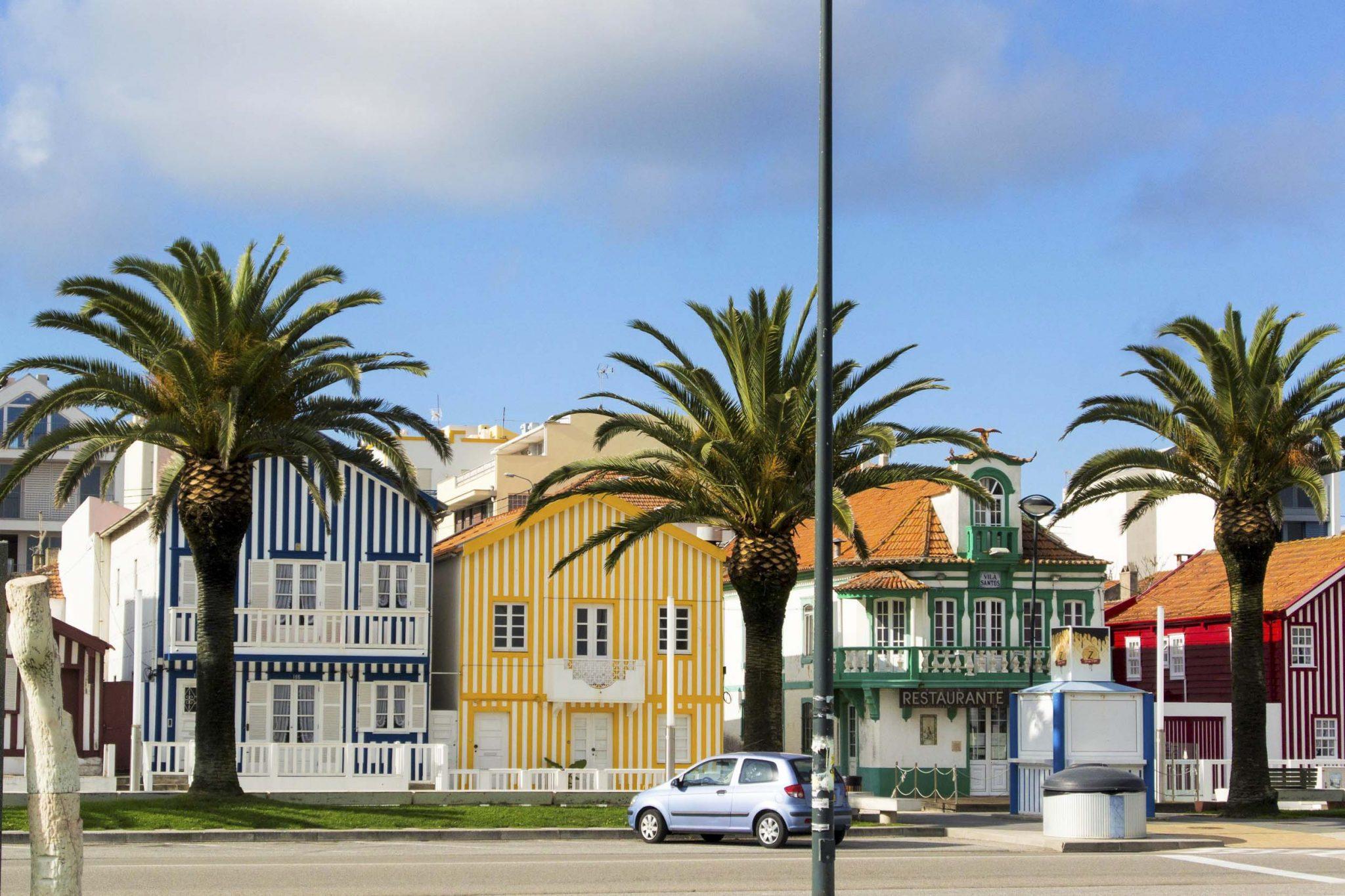 slide surfcamp Portugal surfen Vagueria Die Ortschaft